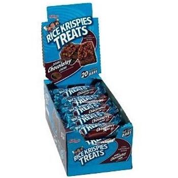 Kellogg's, Rice Krispies Treats, Double Chocolatey Chunk, 1.3 oz. Bars (20 Count)