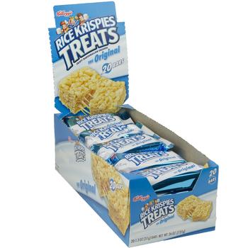 Kellogg's, Rice Krispies Treats, Original, 1.3 oz. Bars (20 Count)