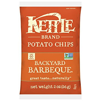 Kettle Brand, Backyard Barbeque, 2.0 oz. Bag (1 Count)