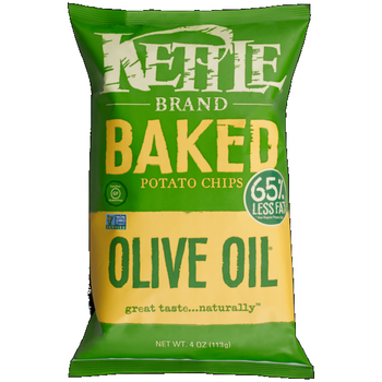 Kettle Brand, Baked Olive, 4.0 oz. Bag (1 Count)