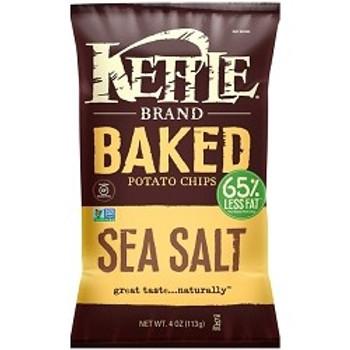 Kettle Brand, Baked Sea Salt, 4.0 oz. Bag (1 Count)