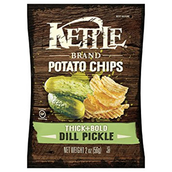 Kettle Brand, Dill Pickle, 2.0 oz. Bag (1 Count)