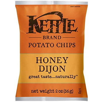 Kettle Brand, Honey Dijon, 2.0 oz. Bag (1 Count)