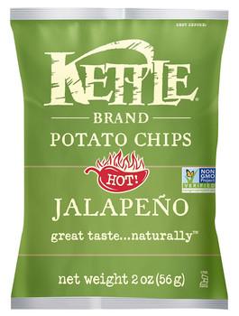 Kettle Brand, Jalapeno, 2.0 oz. Bag (1 Count)