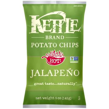 Kettle Brand, Jalapeno, 5.0 oz. Bag (1 Count)