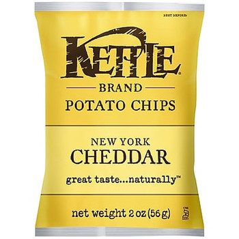 Kettle Brand, New York Cheddar with Herb, 2.0 oz. Bag (1 Count)