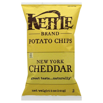 Kettle Brand, New York Cheddar with Herb, 5.0 oz. Bag (1 Count)