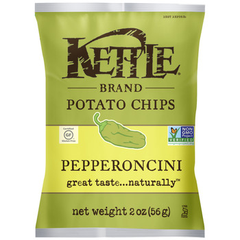 Kettle Brand, Pepperoncini, 2.0 oz. Bag (1 Count)