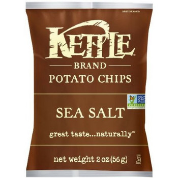 Kettle Brand, Sea Salt, 2.0 oz. Bag (1 Count)