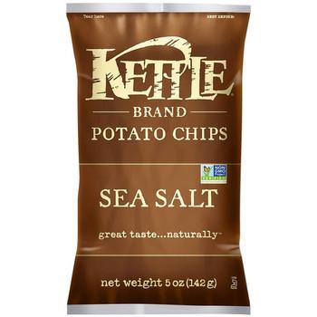Kettle Brand, Sea Salt, 5.0 oz. Bag (1 Count)