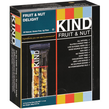 KIND, Fruit & Nut Delight, 1.4 oz. Bars (12 Count)