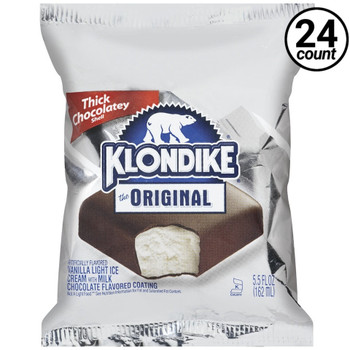 Klondike, Original Ice Cream Bar, 5.5 oz. Bar (24 Count)