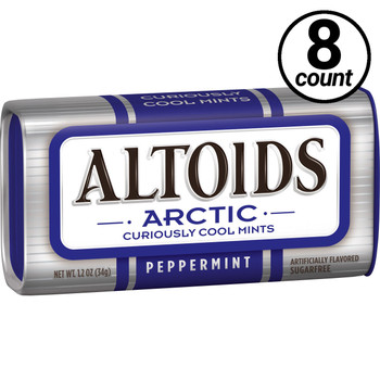 Altoids, Arctic Peppermint, 1.2 oz. Tins (8 Count)