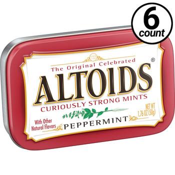 Altoids, Peppermint, 1.76 oz. Tins (6 Count)