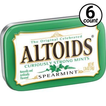 Altoids, Spearmint, 1.76 oz. Tins (6 Count)