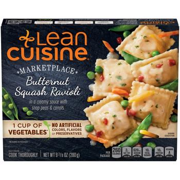 Lean Cuisine, Butternut Squash Ravioli, 9.875 oz. Microwavable Entree (1 Count)