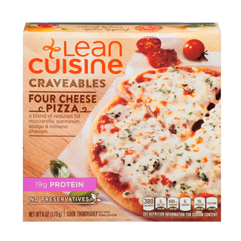 Lean Cuisine, Four Cheese Pizza, 6.0 oz. Microwavable Entree (1 Count)