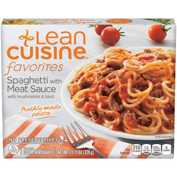 Lean Cuisine, Spaghetti with Meat Sauce, 11.5 oz. Microwavable Entree (1 Count)