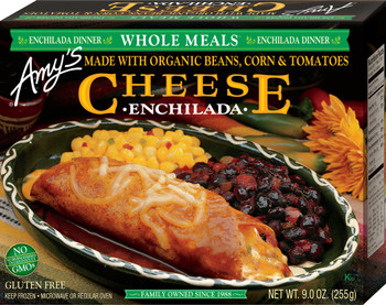 Amy's Kitchen, Cheese Enchilada , 9.0 oz. Entree (1 Count)