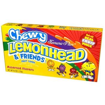 Lemonhead & Friends, Fruit Candy, Assorted Flavors, 5 oz. Theater Box (1 Count)