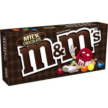 M&M's Chocolate Candies, Milk Chocolate, 3.10 Oz Box (1 Count)