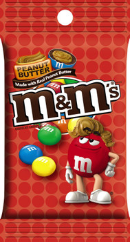 M&M's, Chocolate Candies, Peanut Butter, 5.1 oz. Bag (1 Count)