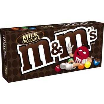 M&M's, Milk Chocolate, 3.1 oz. Theater Box (1 Count)
