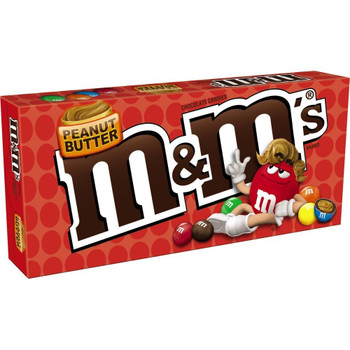 M&M's, Peanut Butter, 3.4 oz. Theater Box (1 Count)