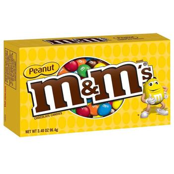 M&M's, Peanut, 3.1 oz. Theater Box (1 Count)