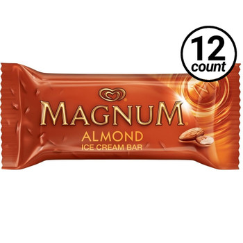 Magnum, Almond Ice Cream Bar, 3.38 oz. Bar (12 Count)