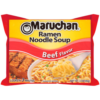 Maruchan, Ramen, Beef, 3.0 oz. Package (1 Count)