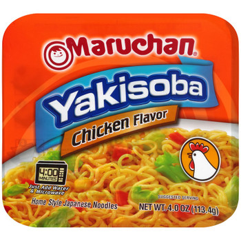 Maruchan, Yakisoba Home-Style Japanese Noodles, Chicken 4.0 oz. (1 Count)