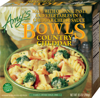 Amy's Kitchen, Country Cheddar Bowl, 9.5 oz. Entree (1 Count)