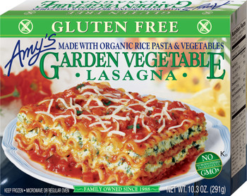 Amy's Kitchen, Garden Vegetable Lasagna, 10.3 oz. Entree (1 Count)