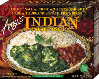 Amy's Kitchen, Indian Palak Paneer, 10.0 oz. Entree (1 Count)