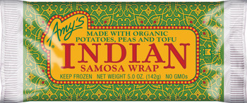 Amy's Kitchen, Indian Samosa Wrap, 5.0 oz. Entree (1 Count)
