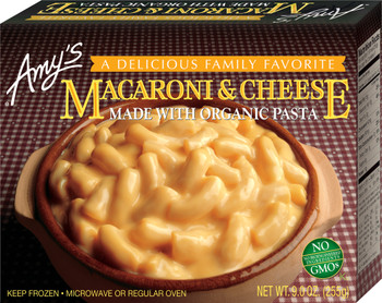Amy's Kitchen, Macaroni & Cheese, 9.0 oz. Entree (1 Count)