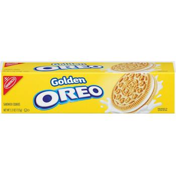 Oreo, Golden Sandwich Cookies, 5.5 oz. (1 Count)