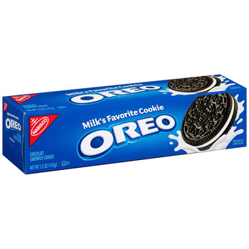 Oreo, Chocolate Sandwich Cookies, 5.25 oz. Convenience Pack (1 Count)