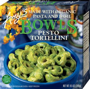 Amy's Kitchen, Pesto Tortellini Bowl, 9.5 oz. Entree (1 Count)