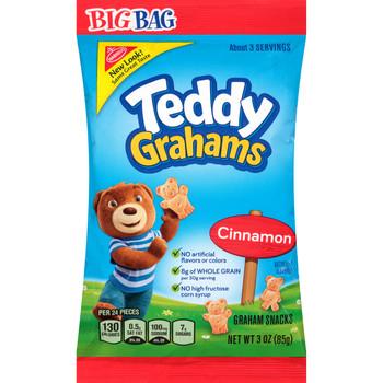 Teddy Grahams, 3.0 oz. BIG Bag (1 Count)