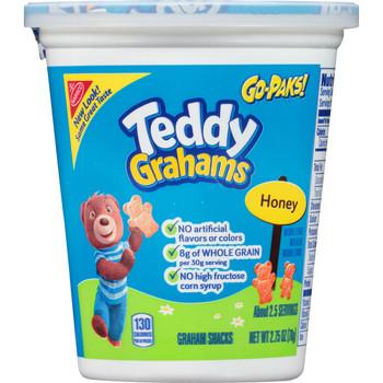 Teddy Grahams, Honey, 2.75 oz. GO-PACK (1 Count)