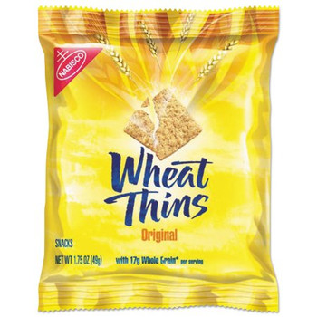 Wheat Thins, Original Whole Grain Crackers 1.75 oz. (1 Count)