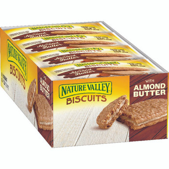 Nature Valley, Biscuits With Almond Butter, 1.35 oz. (16 Count)