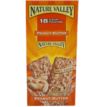Nature Valley, Crunchy Granola Bars, Peanut butter, 1.5 oz. (18 Count)