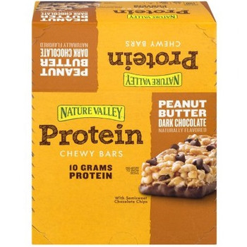 Nature Valley, Protein Bar, Peanut Butter Dark Chocolate, 1.42 oz. (16 Count)