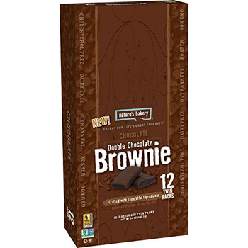 Nature's Bakery, Brownie Chocolate Double Chocolate, 2.0 oz. (12 Count)