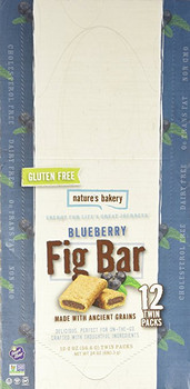 Nature's Bakery, Gluten-Free Fig Bar Blueberry, 2.0 oz. (12 Count)