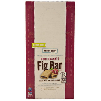 Nature's Bakery, Gluten-Free Fig Bar Pomegranate, 2.0 oz. (12 Count)