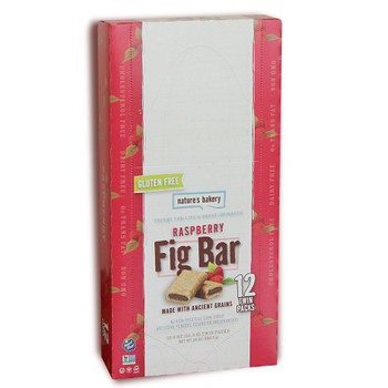 Nature's Bakery, Gluten-Free Fig Bar Raspberry, 2.0 oz. (12 Count)